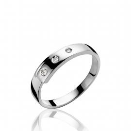 Zinzi brill köves ezüst gyűrű