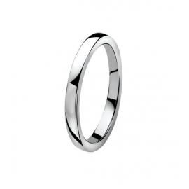 Zinzi ezüst gyűrű, sima, kő nélküli