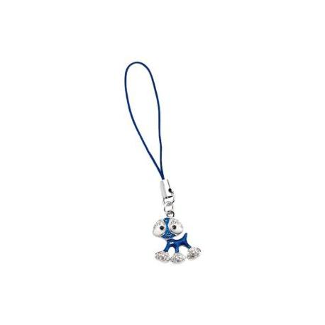 Ródiumos nikkelmentes, antiallergén ötvözetű Twinklets Jasper figura mobildísz Swarovski kristályokkal díszítve.